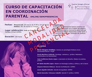 CURSO DE CAPACITACIÓN EN COORDINACIÓN PARENTAL