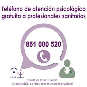 TELÉFONO DE ATENCIÓN PISCOLÓGICA